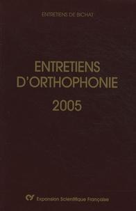 Didier-Jacques Duché et Christophe-Loïc Gérard - Entretiens d'orthophonie 2005.