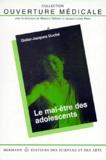 Didier-Jacques Duché - Le mal-être des adolescents.