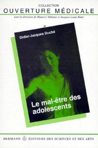 Deedr.fr Le mal-être des adolescents Image