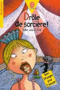 Didier-Jean et  Zad - Drôle de sorcière !.