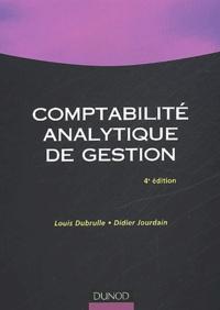 Didier Jourdain et Louis Dubrulle - Comptabilité analytique de gestion.