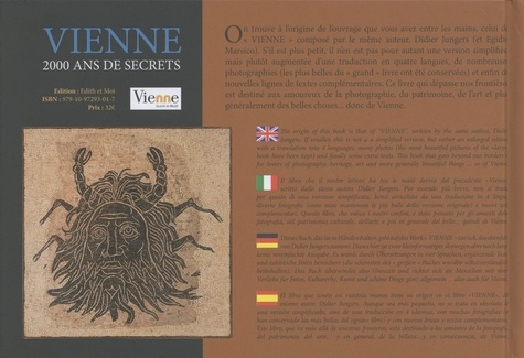 Vienne. 2000 ans de secrets, édition français-anglais-italien-allemand-espagnol