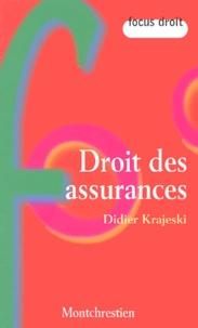 Didier Krajeski - Droit des assurances.