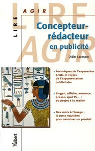 Didier Lavanant - Concepteur-rédacteur en publicité.