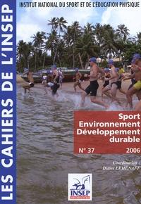 Didier Lehénaff - Sport, Environnement, Développement durable.