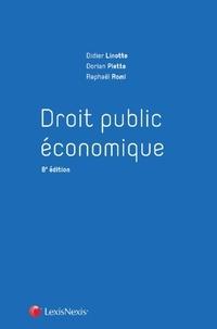 Didier Linotte et Dorian Piette - Droit public économique.