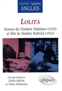 Didier Machu et Taïna Tuhkunen-Couzic - Lolita, roman de Vladimir Nabokov (1955) et film de Stanley Kubrick (1962).