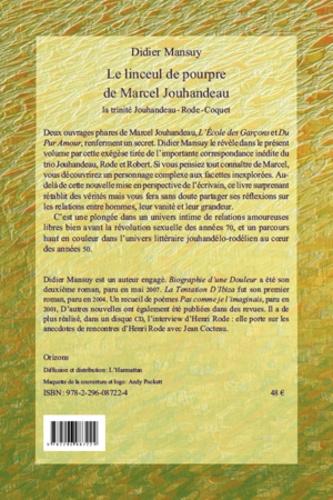 Le linceul de pourpre de Marcel Jouhandeau. La trinité Jouhandeau-Rode-Coquet