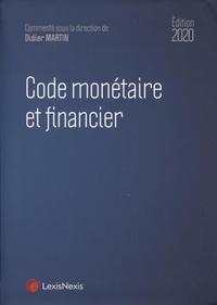 Didier Martin - Code monétaire et financier.