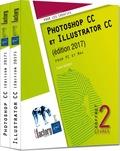 Didier Mazier - Photoshop CC et Illustrator CC - Coffret de 2 livres.