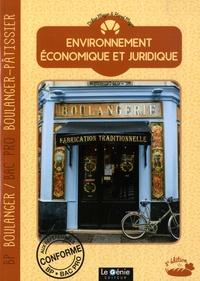 Didier Meyer et Hervé Meyer - Environnement économique et juridique - BP Boulanger & Bac Pro Boulanger-Pâtissier.