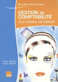Didier Meyer et Hervé Meyer - Gestion et comptabilité d'un institut de beauté BP et Bac Pro Esthétique, parfumerie, beauté.