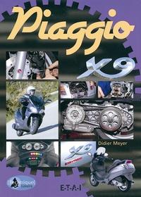 Didier Meyer - Piaggio X9.