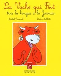 Didier Millotte et Michel Piquemal - La Vache qui Rit tire la langue à la Joconde.