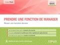 Didier Noyé - Prendre une fonction de manager - Réussir une transition décisive.