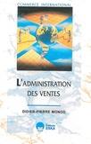 Didier-Pierre Monod - L'administration des ventes.
