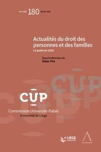 Deedr.fr Actualités du droit des personnes et des familles - Le point en 2018 Image