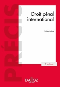 Droit pénal international - Didier Rebut pdf epub