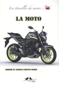 Didier Reuss-Nliba et Jessica Reuss-Nliba - La moto.