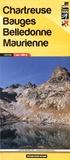 Didier Richard Libris - Chartreuse, Bauges, Belledonne, Maurienne - 1/60 000.
