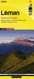 Didier Richard Libris - Léman - Des rives du lac aux sommets 1/60 000.