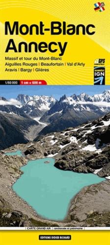 Didier Richard Libris - Mont-Blanc, Annecy - 1/60 000.