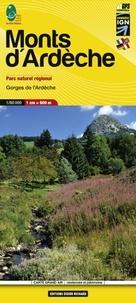 Didier Richard Libris - Monts d'Ardèche - 1/60 000.