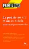 Didier Sevreau - La poésie au XIXème siècle et au XXème siècle. - Problématiques essentielles.