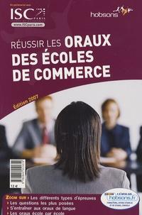 Didier Visbecq - Réussir les oraux des écoles de commerce.