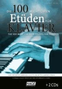 Die 100 wichtigsten Etüden für Klavier + 2 CDs - Eine einzigartige Sammlung leichter und mittelschwerer Etüden.