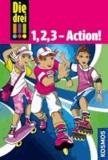 Die drei !!! 1, 2, 3 - Action! (Ausrufezeichen) - Dreifachband: Skaterfieber. Vorsicht, Strandhaie!. Im Bann des Tarots.