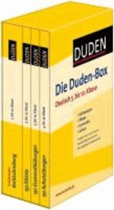 Die Duden-Box Deutsch 5. bis 10. Klasse - Schülerduden - Diktate - Grammatik - Aufsatz.