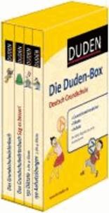 Die Duden-Box Deutsch Grundschule - Grundschulwörterbücher - Diktate - Aufsatz.