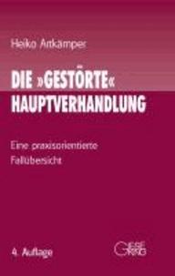 Die ' gestörte' Hauptverhandlung - Eine praxisorientierte Fallübersicht.