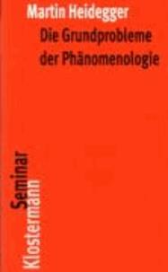 Die Grundprobleme der Phänomenologie.