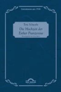 Die Hochzeit der Esther Franzenius.