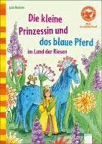 Die kleine Prinzessin und das blaue Pferd im Land der Riesen.