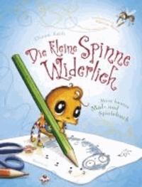 Die kleine Spinne Widerlich - Mein buntes Mal- und Spielebuch.