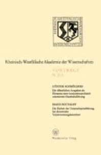 Die öffentlichen Ausgaben als Elemente einer konjunkturpolitisch orientierten Haushaltsführung. Die Einheit der Unternehmensführung bei dezentralen Verantwortungsbereichen - 197. Sitzung am 7. April 1971 in Düsseldorf.