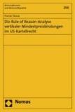 Die Rule of Reason-Analyse vertikaler Mindestpreisbindungen im US-Kartellrecht.