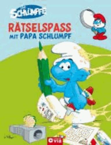 Die Schlümpfe - Rätselspaß mit Papa Schlumpf.