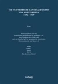 Die schwedische Landesaufnahme von Vorpommern 1692-1709 - Stettin: Das Kessiner Viertel.