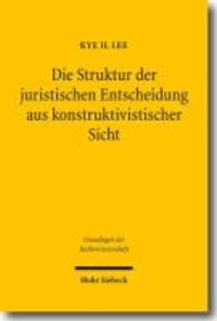 Die Struktur der juristischen Entscheidung aus konstruktivistischer Sicht.