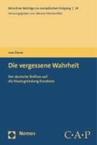Die vergessene Wahrheit - Der deutsche Einfluss auf die Staatsgründung Kroatiens.