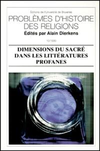 DIERKENS A - Dimensions du sacré dans les littératures profanes.