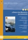 »Dieser eine Moment« im Unterricht - Lehrerhandreichung zum Jugendroman von Christoph Wortberg (Klassenstufe 8-10, mit Kopiervorlagen und Lösungsvorschlägen).
