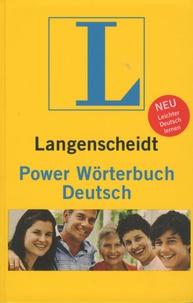 Dieter Götz et Hans Wellmann - Langenscheidt Power Wörterbuch Deutsch.
