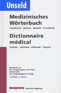 Dieter-Werner Unseld - Dictionnaire médical : Medizinisches Wörterbuch..