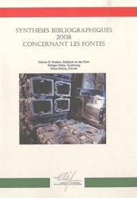 Synthèses bibliographiques 2008 concernant les fontes.pdf