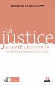 Deedr.fr La justice constitutionnelle en République démocratique du Congo - Fondements et modalités d'exercice Image